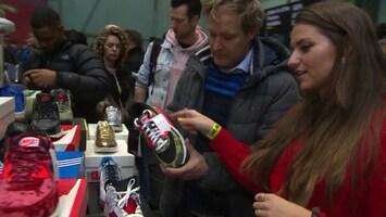 'Tweedehands' sneakers goed voor miljardenbusiness