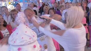 Barbie's Bruiloft - Haags Bruidsfeessie, Smijten Met De Taart!