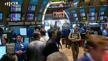 RTL Nieuws Angst bij beleggers: euro nog niet gered