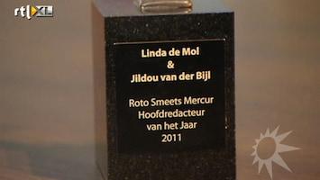RTL Boulevard Jildou van der Bijl en Linda de Mol hoofdredacteur van het jaar