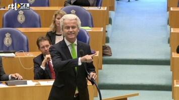 RTL Nieuws Wilders krijgt Rutte niet op de kast