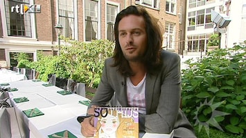 RTL Boulevard Nieuwe boek So Thijs