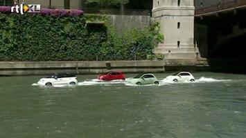 RTL Nieuws Auto's rijden op water