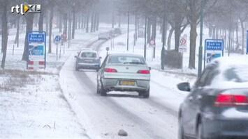RTL Nieuws 'Het klaart langzaam op, maar het blijft koud'