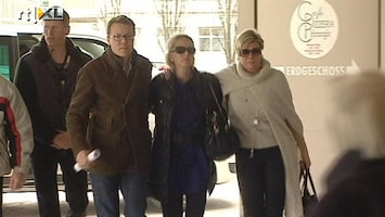 RTL Nieuws Beatrix blijft voor prins Friso in Lech