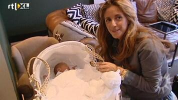 RTL Boulevard Op babybezoek bij Danie Bles