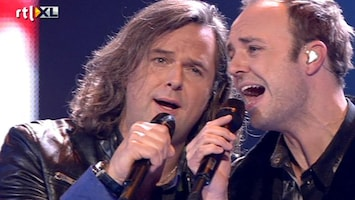 The Voice Of Holland: The Results Duet Erwin & Niels - This Ain't A Love Song