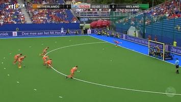 Ek Hockey 2013 - Nederland - Ierland (dames)