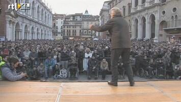 RTL Nieuws Italiaanse caberetier scoort met protestpartij