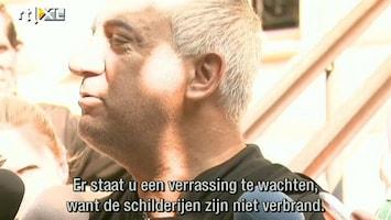 RTL Nieuws 'Schilderijen kunstroof niet verbrand'