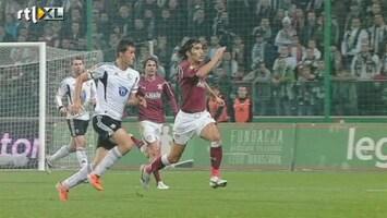 Rtl Voetbal: Uefa Cup - Legia Warschau - Rapid Boekarest