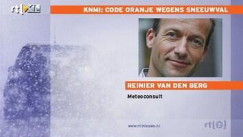 RTL Nieuws Weerman: iedere vlok blijft liggen
