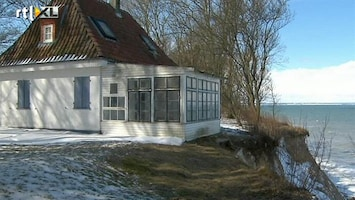 RTL Nieuws Idyllisch huisje moet wijken voor de zee