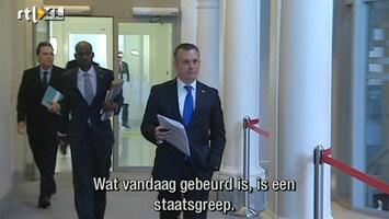 RTL Nieuws Ontslagen premier Curaçao: Dit is een staatsgreep
