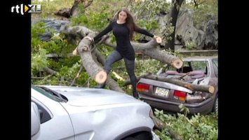 Editie NL Model maakt misbruik van Sandy