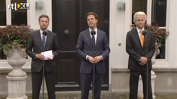 RTL Nieuws Persconferentie Catshuisconclaaf