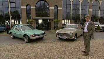 Gek Op Wielen Autogek: AMC Pacer en Lancia Flaminia