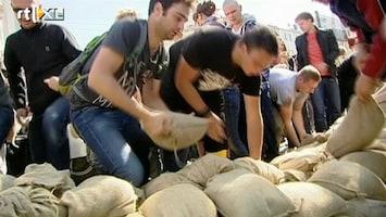RTL Nieuws Dresden strijdt tegen stijgend water