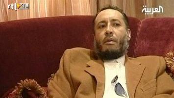 RTL Nieuws Zoon Khadaffi onderschept in Niger