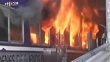 RTL Nieuws Vertraging? Steek de trein in brand