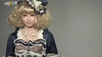 RTL Nieuws Gothic lolita's openen Tokio Fashion Week