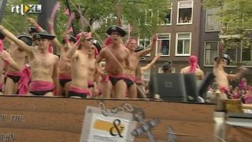 RTL Nieuws Gaypride met een boodschap