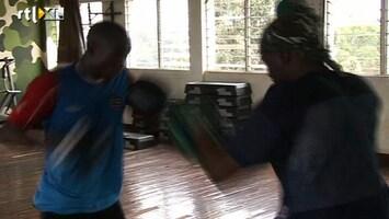 RTL Nieuws Nederlanders leert Kenianen kickboksen