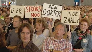 RTL Nieuws Huisartsen protesteren tegen bezuinigingen
