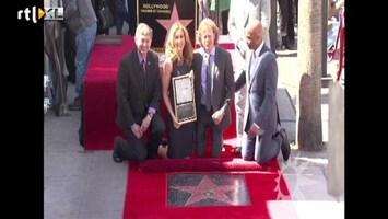 RTL Boulevard Hollywoodkoppel gehuldigd op Walk Of Fame