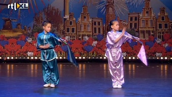 Holland's Got Talent April en Dawen (Kung-Fu)