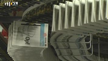 RTL Nieuws Laatste editie De Pers in de bakken
