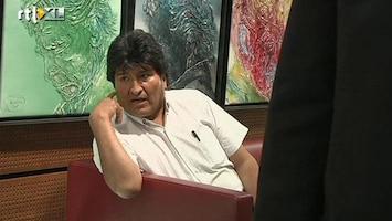 RTL Nieuws Boliviaanse president uit luchtruim geweerd