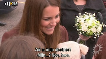 RTL Boulevard Kate verklapt geslacht baby