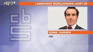 RTL Nieuws Langdurige werkloosheid flink gestegen