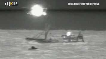 RTL Nieuws Zoektocht naar vermiste opvarenden vrachtschip gestaakt