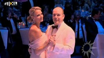 RTL Boulevard Het burgerlijk huwelijk vsn Prins Albert en Charlene