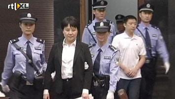 RTL Nieuws Keiharde politieke afrekening in rechtszaal China