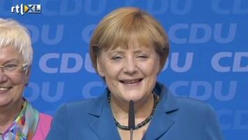 RTL Nieuws 'De toekomst van Merkel ziet er rooskleurig uit'