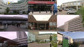 RTL Nieuws Teveel ziekenhuizen in Nederland