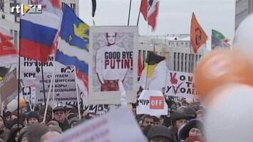 RTL Nieuws Weer protesten in Rusland