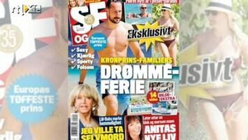 RTL Boulevard Noorse royals boos op paparazzi