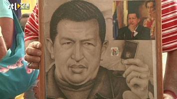 RTL Nieuws Oud-president Chavez herdacht op zijn verjaardag