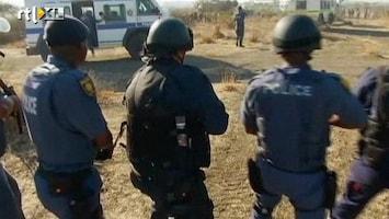 RTL Nieuws Politie Z-Afrika doodt zeker 30 mijnwerkers (schokkend)
