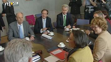 RTL Nieuws Debat over val kabinet Rutte