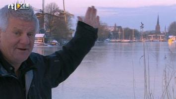 RTL Nieuws Nederland geniet volop van winterweer