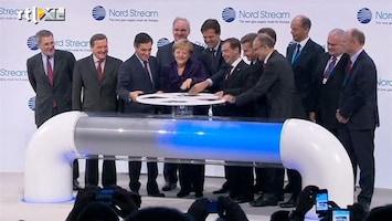 RTL Nieuws Mega-gaspijplijn Nord Stream geopend