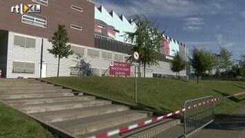 RTL Nieuws Campus Kerkrade dicht vanwege scheuren in vloer