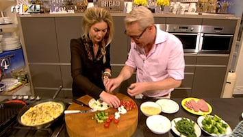 Carlo & Irene: Life 4 You Lauren Verster helpt Rudolph in de keuken