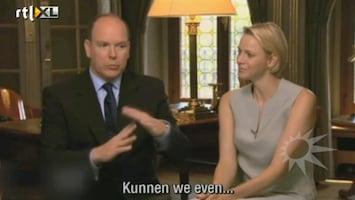 RTL Boulevard Stotterende Albert onderbreekt interview