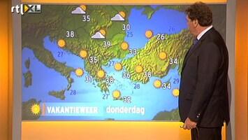RTL Nieuws Het weer op de Europese vakantiebestemmingen